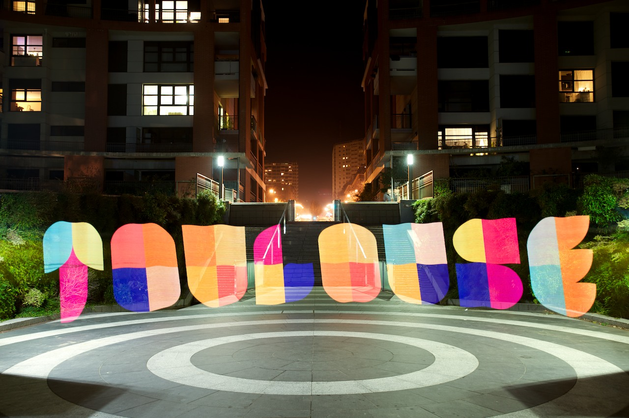 Toulouse Light Painting